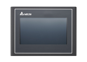 IHM tipo touch screen - Human Machine Interfaces - DOP-103WQ - Delta Group