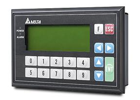 IHM tipo painel de texto - Human Machine Interfaces - TP04G-BL-C Series - Delta Group