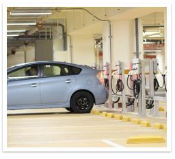 Soluções de carregamento de veículos elétricos