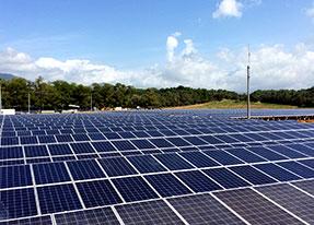 Soluciones - Sistema solar modular atado a la red de megavatios - Delta Group