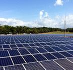 Sistema solar modular conectado à rede com potência de megawatts