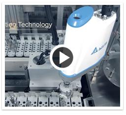 Soluções da Delta para máquinas de embalagem