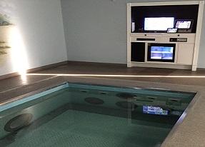 Soluciones - Control de piscina de terapia acuática - Control de piscina de terapia acuática - Delta Group