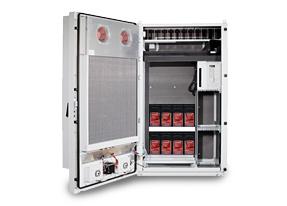 Soluções – soluções de energia para telecomunicações - gabinete outdoor com resfriamento ECOlógico - Delta Group