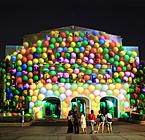 台北中山堂 - 2012 台北电影节 中山堂外墙投影