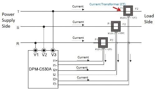 Ct Meter Wiring Diagram