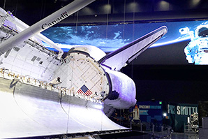 Delta LED Display Lights up Space Shuttle Atlantis at Kennedy Space Center Visitor Complex