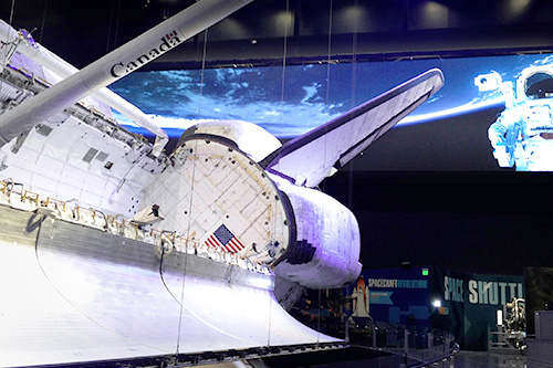 Delta LED Display at NASA's Kennedy Space Center Visitor Complex
