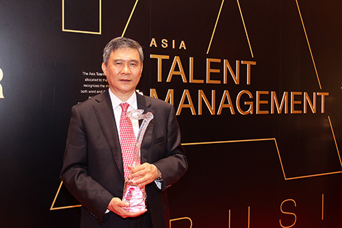 Delta Electronics Chairman Yancey Hai Receives Asia Talent Management Award at the 2013 CNBC Asia Business Leaders Awards