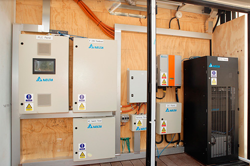 Delta introduces its BEMS (Delta Building Energy Management System) and the Battery Energy Storage Solution (BESS) at SDE 2014.
