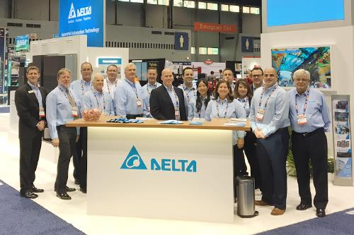 Delta IA's sales team at WEFTEC 2017