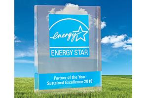 Delta Electronics Earns 2018 ENERGY STAR® Partner of the Year: Sustained Excellence Award