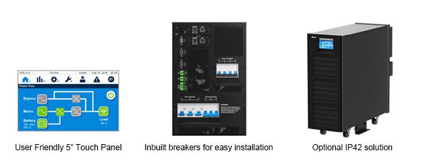 HPH Gen.2 series UPS 20-40kVA - features